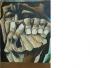 Se vende lienzo tiempo de angustia original de oswaldo guayasamin