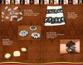 Fotos de artesanias colombia cacho hueso semilla modelos originales