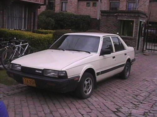 fotos de vendo mazda 626l 1987 barato