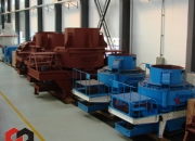 Serie B Trituradora de tipo impacto de eje verticial(Máquina de Arena)