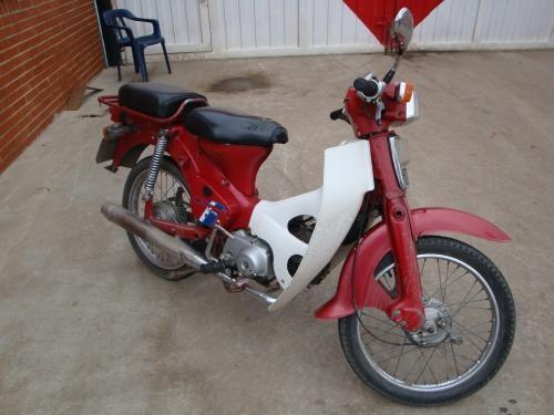fotos de moto honda c70 1993 - cundinamarca