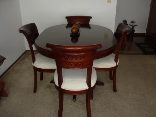 Muebles comedor usados venta 20170807120425 for Comedores de madera nuevos