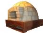 Fabricacion de hornos de le�a para pizza , u