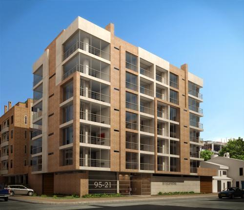 Fotos de chico apartamentos edificio bteghrine bogot for Apartamentos chicos