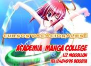 Clases de manga, dibujo, caricatura y pintura (academia manga college)