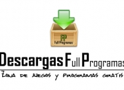 Descarga Gratis Programas Juegos y Mas!!