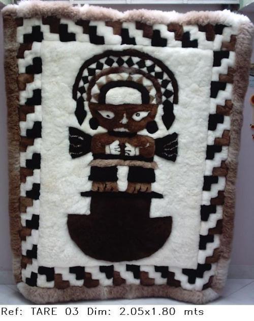 Fotos de alfombras 100 piel de alpaca bogot distrito for Alfombras de borrego