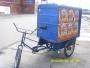 Vendo triciclo de carga azul 400000