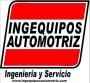 Equipos para servitecas, talleres y centros de servicio automotriz