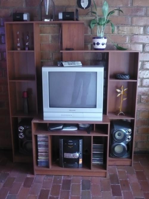 Mueble mesa para tv 32 40 50 pulgadas y equipo de sonido - Muebles para equipo de sonido ...