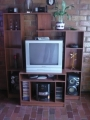 Televisor 27 mueble equipo sonido panasonic negociables