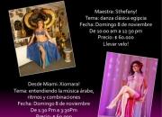 Gran Seminario de Danza Arabe en Bogota!