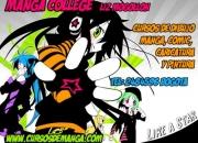Cursos de dibujo academia manga college liz mogollon