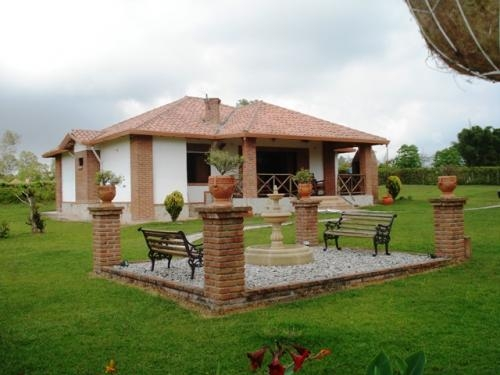 Pin casas de campo en mexico pelautscom on pinterest for Fotos de casas de campo rusticas
