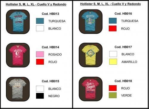 Camisetas Abercrombie Bogota