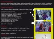 ACADEMIA DE FOTOGRAFIA ENFOQUE CURSOS,CLASES Y TALLERES DE FOTOGRAFIA