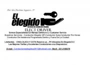 CONDUCTORES ELEGIDOS ELECT DRIVER
