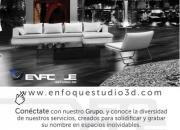 renders +  rendering + arquitectura + maquetas + tour virtual + animacion 3d / ENFOQUE GRUPO