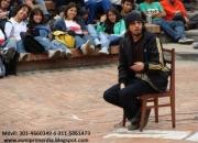 Cuentero Pablo Torres Mendez - Cuenteria y Musica - Bogota
