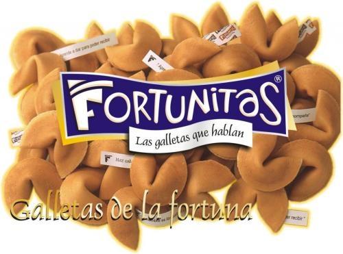 """Galletas de la fortuna. fortunitas """" las galletas que hablan"""""""
