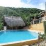 TAGANGA - casa LOS CERROS estudio  con piscina, vista al mar.