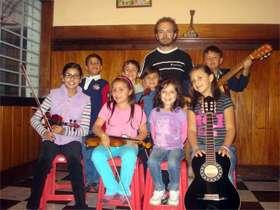 Clases violín y guitarra niños bogota