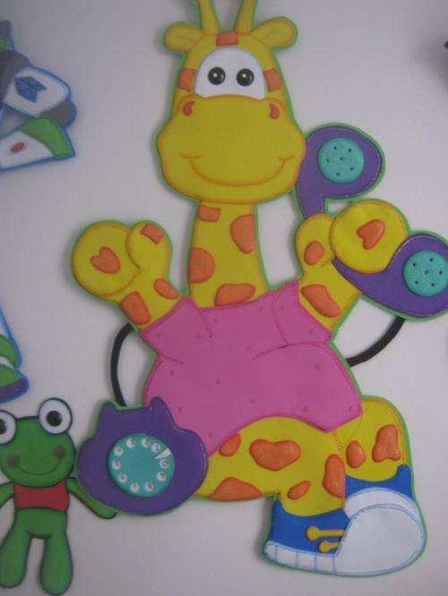 Decoraci n para beb s en foami imagui for Decoracion salas jardin de infantes