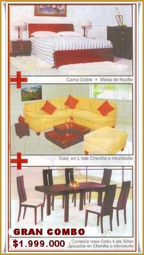 Venta de muebles para su hogar como camas, camarotes, juegos de ...