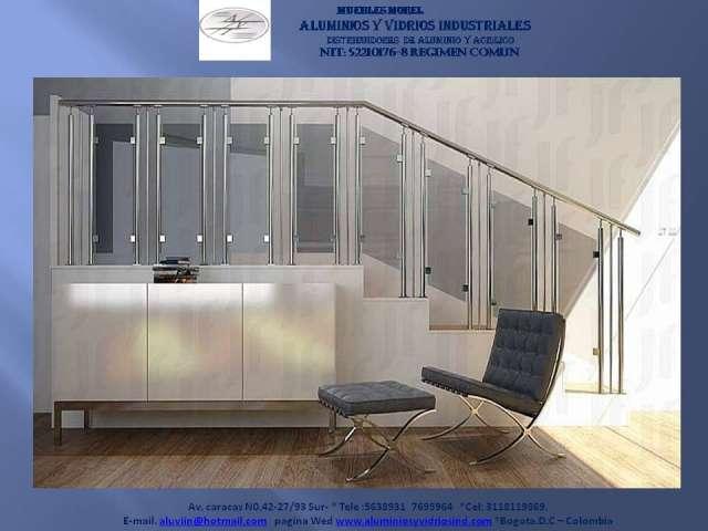404 not found for Pasamanos de aluminio