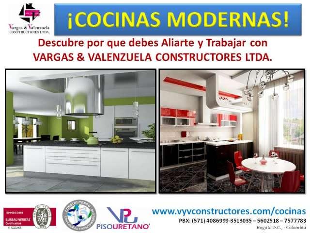 Fotos de cocinas integrales precios de fabrica monterrey for Muebles cocina bogota