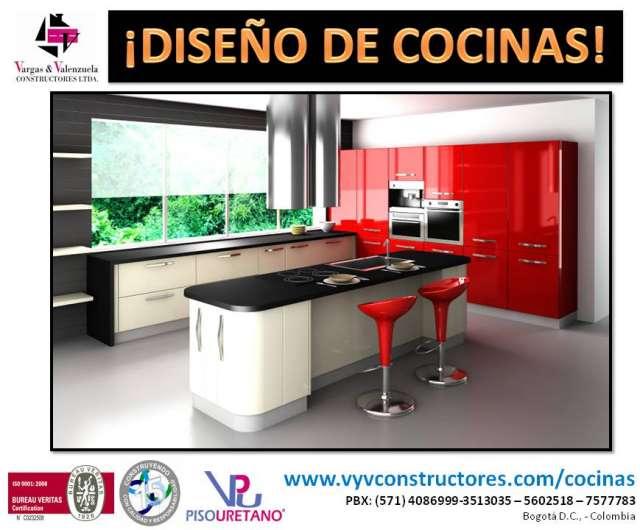 Fotos de cocinas integrales y closet chocolate en madera for Cocinas integrales de madera