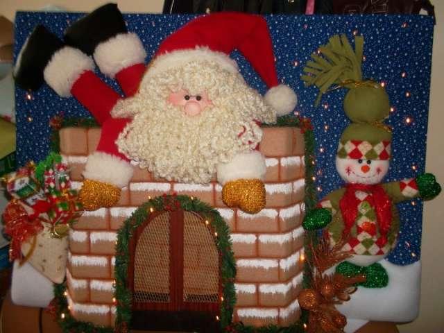 Ver muñecos navideños con moldes - Imagui