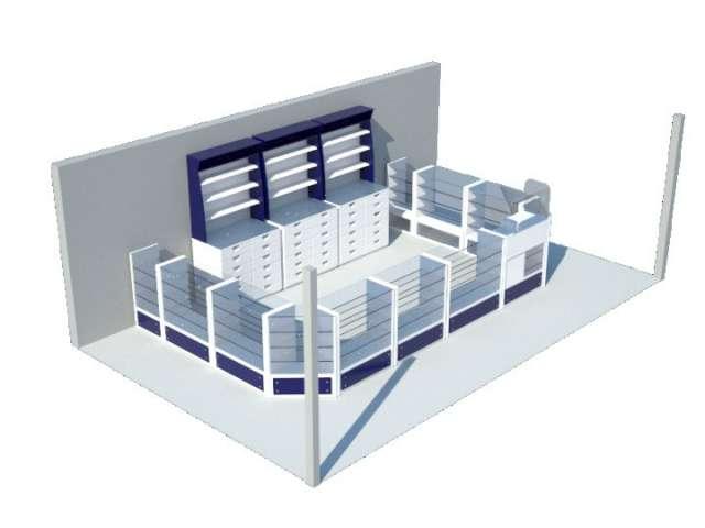 Muebles para farmacia en colombia 3165217609 en Chía, Colombia - Otros inmuebles