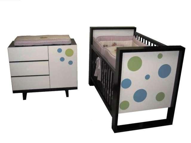 MUEBLE INFANTIL CUNA Y COMODA PARA BEBE en Bogotá - 266403