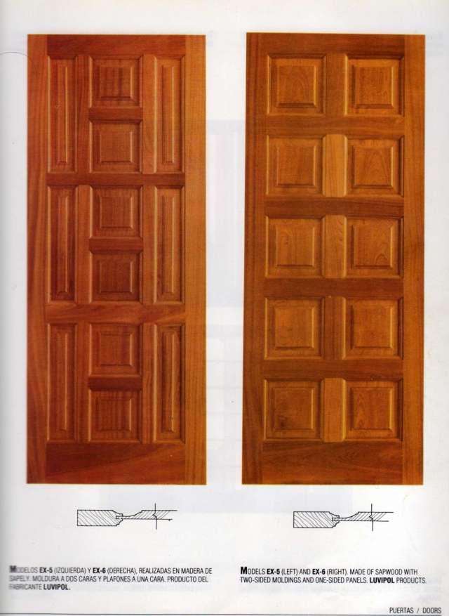 Puertas de dise o en madera maciza lujo dj s001 jpg quotes - Puertas de madera para casa ...