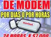 Alquiler de modem, alquiler de internet movil