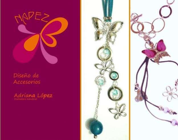 Bisuteria, collares, manillas, aretes y accesorios para mujer. napez , accesorios