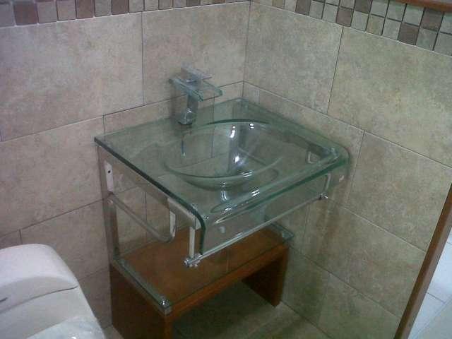 Griferia De Vidrio Para Baño:Fotos de Los mejores muebles para baño en vidrio, griferia en Bogotá