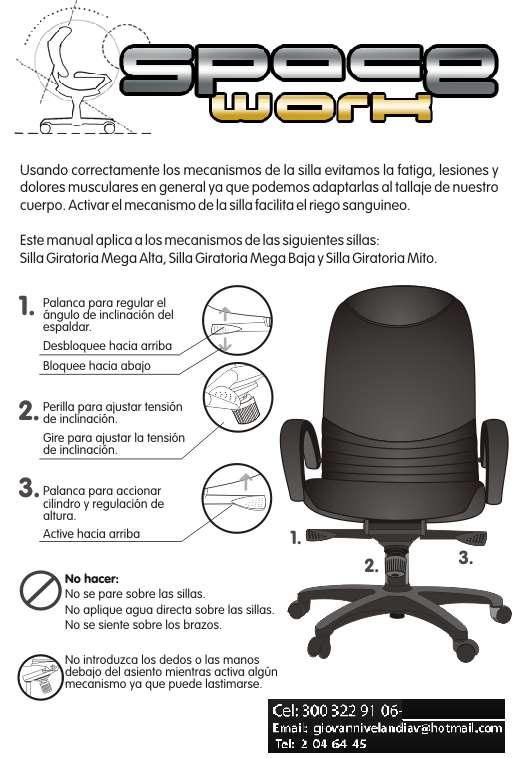 Mantenimiento y reparacion de sillas de oficina en Bogotá - Otros ...