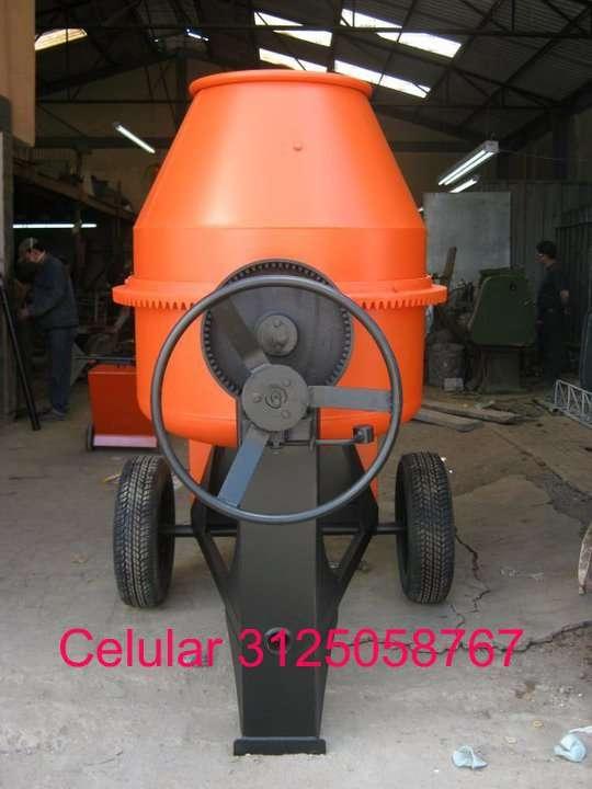 Mezcladora para concreto de dos bultos