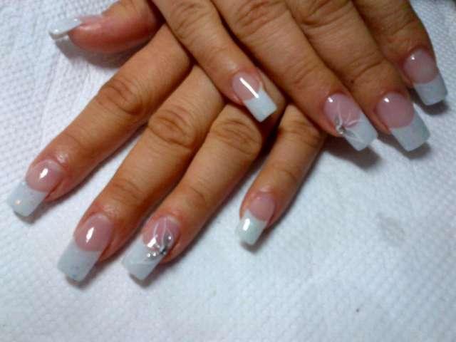 Pin unas gel acrilicas decoradas 1 634360487390990688 pelauts com on pinterest - Unas postizas decoradas ...