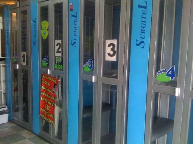 Super ganga vendo 4 cabinas telefonicas