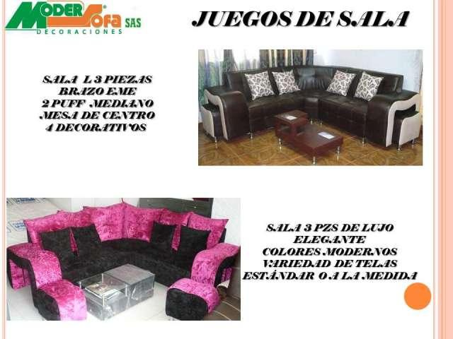 Fotos de juegos de sala sofas elegantes modernos muebles for Muebles de sala en quito baratos