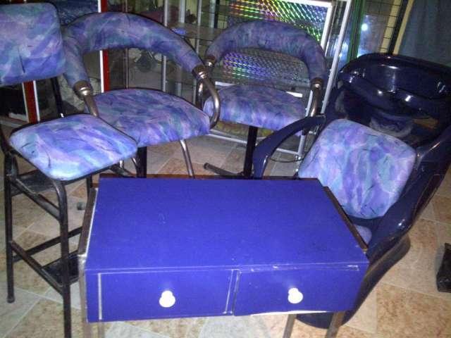 Muebles salon de belleza usados y economicos en Bogotá, Colombia