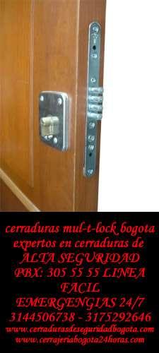 Cerraduras de seguridad bogota 7/24 - cerraduras de seguridad bogota d.c.