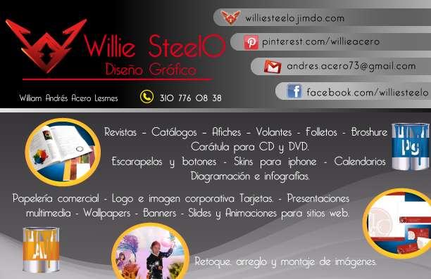 Willie steelo: diseño gráfico y publicidad
