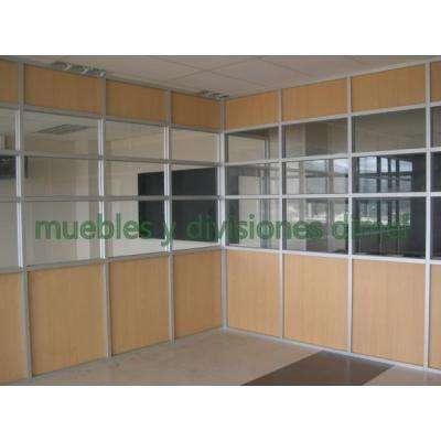 muebles de aluminio y vidrio: