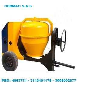 Venta de mezcladora tipo trompo con motor diesel