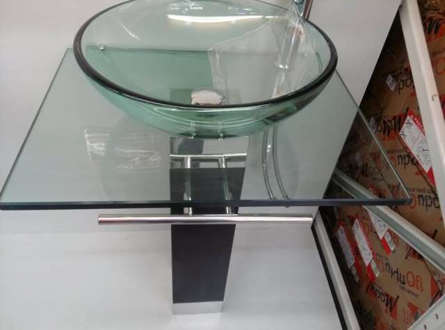 Muebles de vidrio para bano 20170811044253 for Muebles de bano completos
