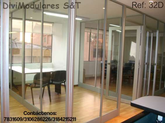 en vidrio templado muebles para oficina en Bogotá, Colombia  Muebles